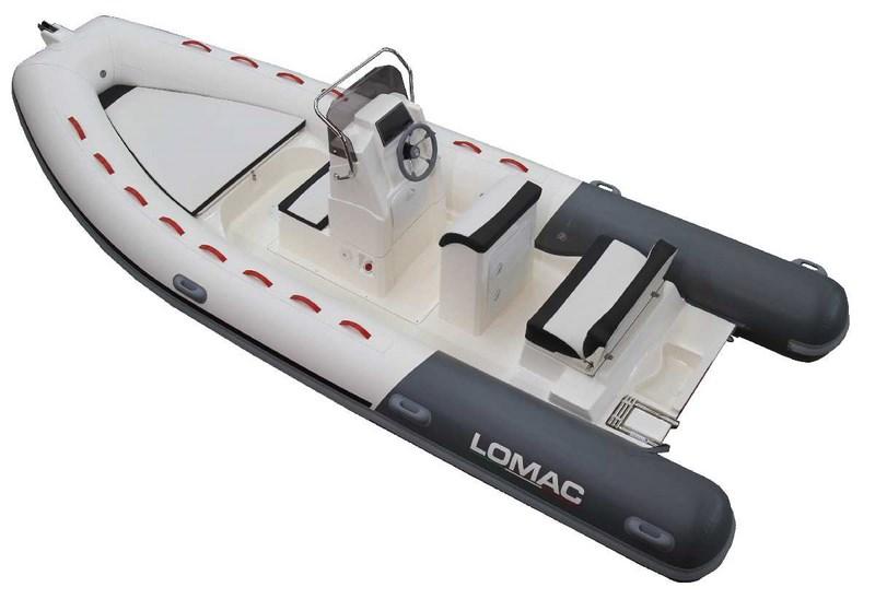 Location bateau semi rigide Lomac 580 OK
